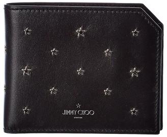 Jimmy Choo Albany Leather Bifold Wallet