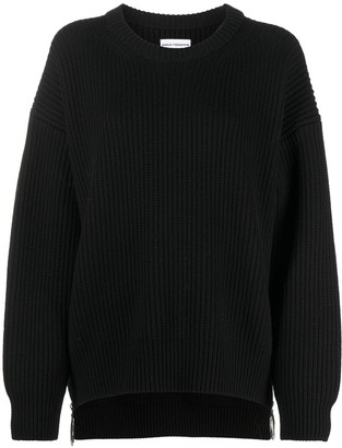 Paco Rabanne Ribbed-Knit Jumper