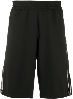 Neil Barrett Side Stripes Track Shorts