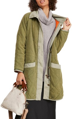 Free People Puffed Out Reversible Dolman Jacket