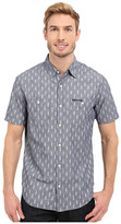U.S. Polo Assn. Short Sleeve Slim Fit Printed Canvas Shirt