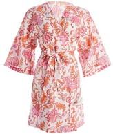 Thumbnail for your product : Roller Rabbit Amanda Paisley Print Kimono Robe