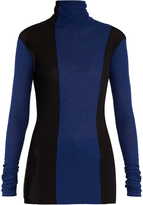 Haider Ackermann Fugazi striped roll-neck sweater