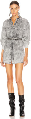 Etoile Isabel Marant Lynton Shirt in Faded Black | FWRD