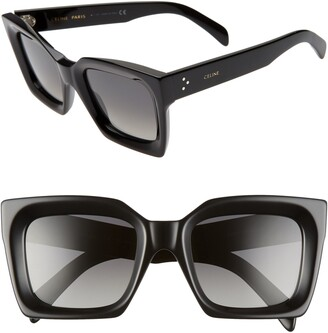 Celine 51mm Polarized Square Sunglasses