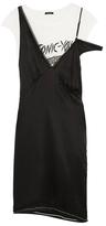 R 13 Overlay Lingerie Dress
