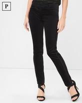 White House Black Market Velvet Slim Ankle Pants