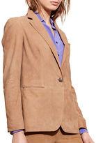 Lauren Ralph Lauren Long Sleeve Leather Jacket