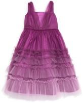 Marchesa Mini Little Girl's & Girl's London Tiered Tulle Dress