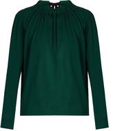 Marni Tie-back cotton-jersey blouse
