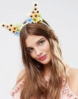 Asos Spring Floral Fox Ears