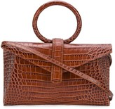 Valery Complét crocodile-effect tote bag