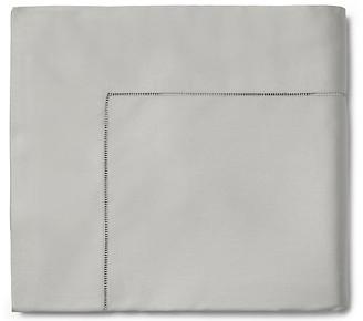 Sferra Fiona Flat Sheet - Gray Full/queen