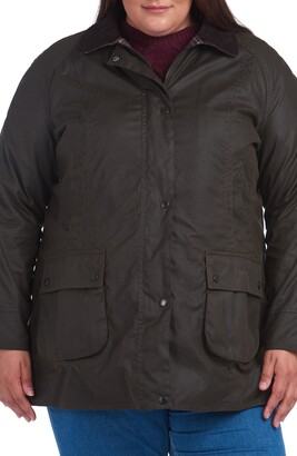 Barbour Classic Beadnell Hooded Raincoat