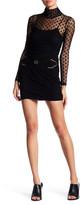 Maje Genuine Suede Mini Skirt