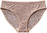 Joe Fresh Women's Leopard Print Bikini, Print 2 (Size XL)