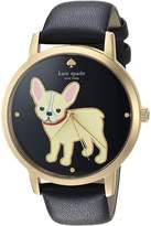 Kate Spade Grand Metro French Bull Dog - KSW1406 Watches