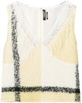 Calvin Klein Lace Detailed Top