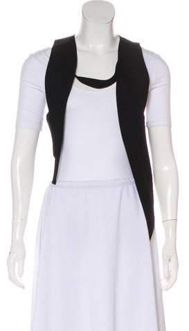 Ann Demeulemeester Virgin Wool Asymmetrical Vest