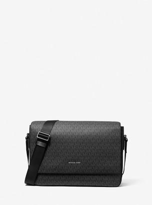 Michael Kors Harrison Logo Messenger Bag
