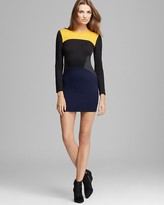 Torn By Ronny Kobo Dress - Ivy Color Block