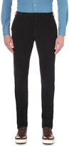 SLOWEAR Slim-fit tapered corduroy trousers