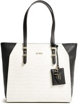 GUESS Gia Color-Blocked Tote