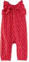 Old Navy Heart-Printed Romper for Baby