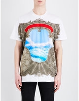 Givenchy Wave-print Cotton T-shirt
