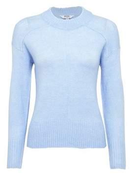 Dorothy Perkins Womens Petite Ice Blue Spandex Jumper, Blue