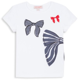 Lili Gaufrette Little Girl's Bow T-Shirt