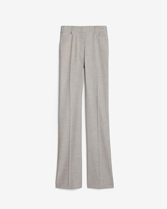 Express High Waisted Woven Barely Boot Pant