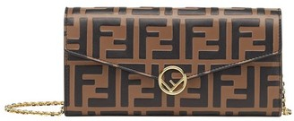Fendi Continental With Chain