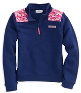 Vineyard Vines Girls' Whale-Outline Shep Shirt - Little Kid, Big Kid