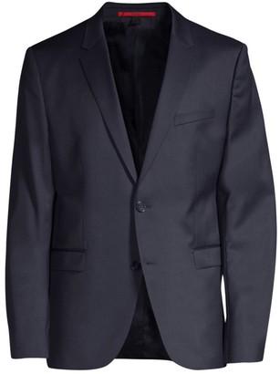 HUGO Two-Button Wool Blazer