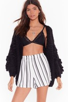 Nasty Gal Out of Line Striped Shorts