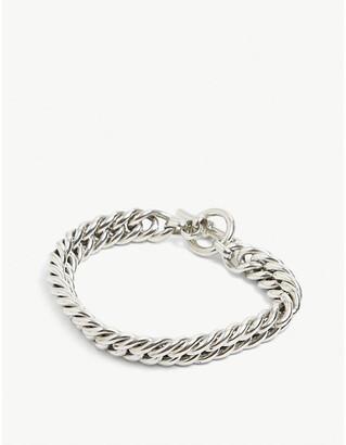 Tilly Sveaas Ltd Curb linked sterling silver bracelet