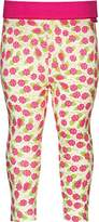 Playshoes Baby-Girls with Comfort Top Flower Leggings,0-3 Months (Manufacturer Size:50/56 (0-3 Months))
