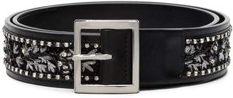 Amiri embroidered buckled belt