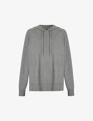 AllSaints Olly recycled cashmere-blend hoody