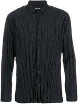 Issey Miyake pleated shirt - men - Cotton/Polyester - 2