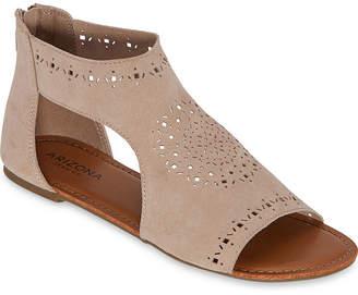Arizona Womens Tawny Flat Sandals