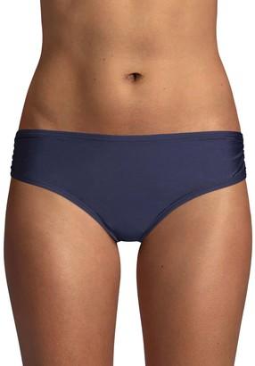 Calvin Klein Swim Ruched-Side Bikini Bottom