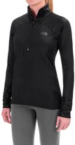 The North Face Isotherm Shirt - Zip Neck, Long Sleeve (For Women)