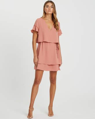 Chancery Regan Layered Mini Dress