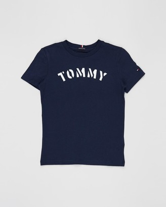 Tommy Hilfiger Essential Tommy Graphic Short Sleeve Tee - Teens