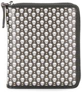 Alexander McQueen micro skull wallet - men - Cotton - One Size