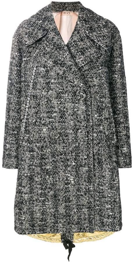 No.21 oversized coat