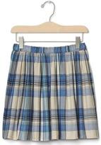 Gap Plaid flippy skirt