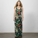 Denim & Supply Ralph Lauren Island Floral Tank Maxidress